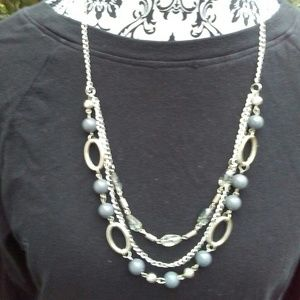 Statment necklace/earring set